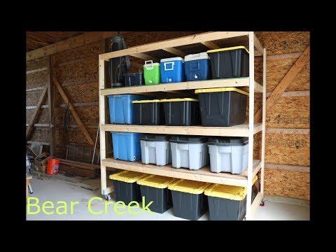 Episode 09 – DIY Garage Storage Shelves
