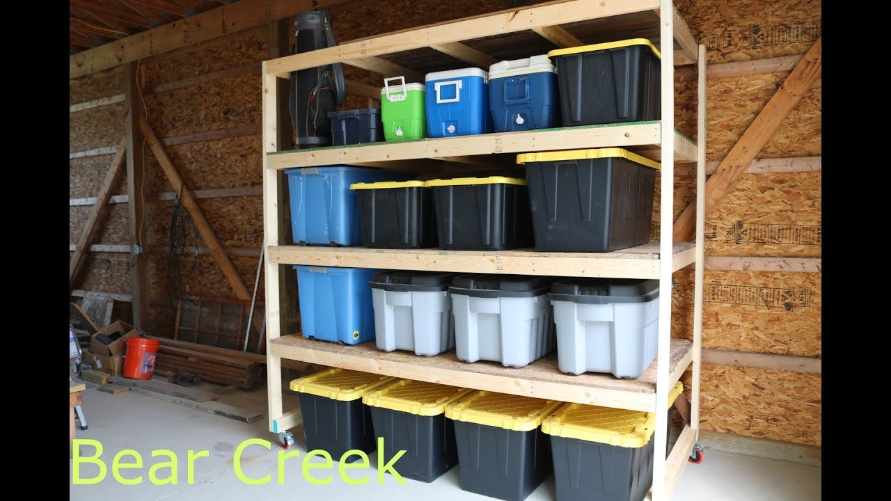 Episode 09 Diy Garage Storage Shelves