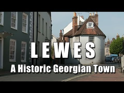 The Bald Explorer Goes to Lewes in East Sussex