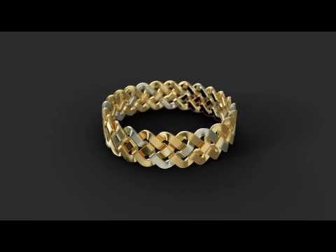 Jewellery animation with SimLab Composer