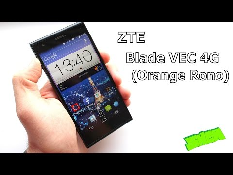 ZTE Blade VEC 4G (Orange Rono) - Szczegółowa recenzja [PL]