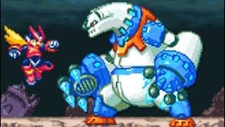 Mega Man Zero 2 (GBA) All Bosses (No Damage)
