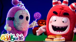 ODDBODS Munching All The Sweets & Treats | Cartoons For Kids