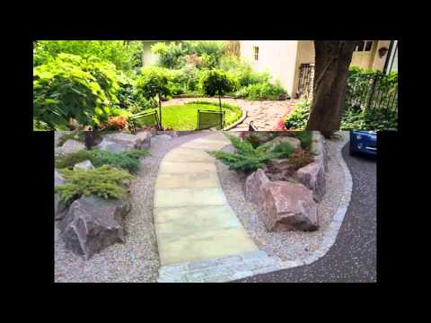 Simple Home Landscape ideas for small gardens