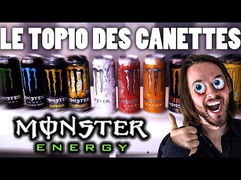 TOP10 DES CANETTES DE MONSTER !