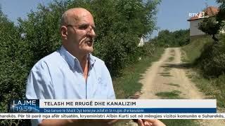 Disa banorë të fshatit Dyz kërkojnë asfaltim të rrugës dhe kanalizim