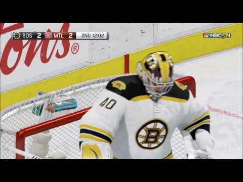 NHL 17 - Boston Bruins vs Montreal Canadiens | Gameplay (HD) [1080p60FPS]