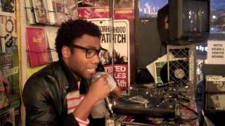 Donald Glover Childish Gambino at FatBeats, LA Highlight Reel.mp3