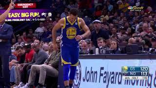 Stephen Curry Nasty Injury - Warriors vs Pelicans | Dec 4, 2017 | Ximo Pierto