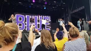 Blue - Paradise - Canterbury - Spitfire Ground 09/06/2018 Resimi