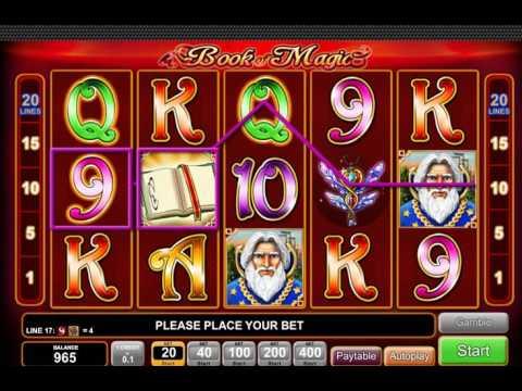Игровой автомат Book Of Magic