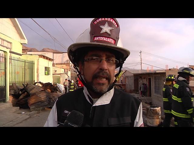 INCENDIO POBLACIÓN CHILE