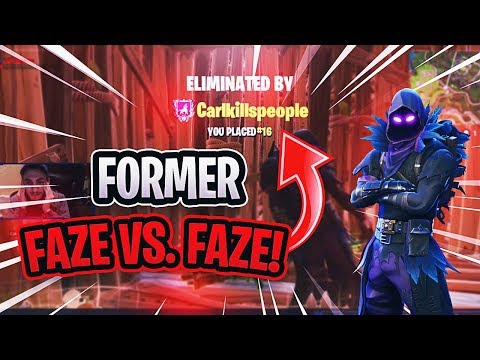 FORMER FaZe Vs FaZe PART 2! *FORTNITE 1v1 Carl Vs Replays*