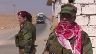 أيزيديات مستعدات لقتال تنظيم الدولة الإسلامية -   100 امرأة