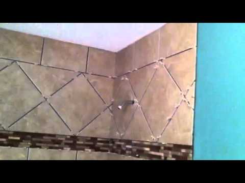 13x13 Porcelain Tile Shower Walls