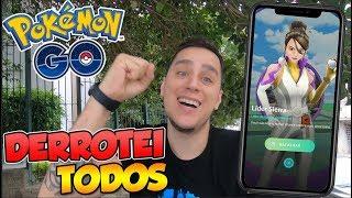 DERROTEI OS 3 LIDERES SEM NENHUM POKÉMON TALADO -  Pokémon Go Em Busca Dos Melhores (Parte 125)