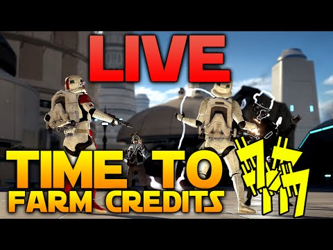 Star Wars Battlefront LIVE - Death Star Preparation - NEED MORE CREDITS!
