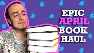 Epic Reads April Book Haul - ny YA som släppts i april!