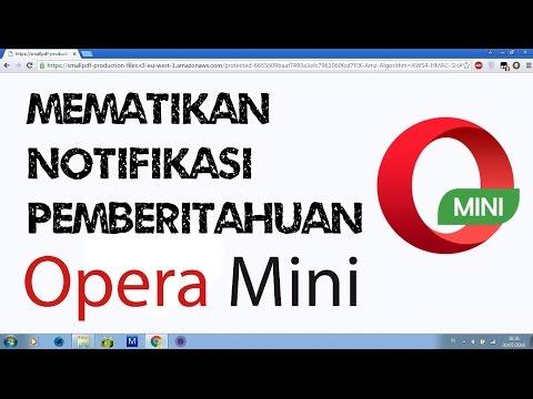 Cara Mematikan Javascript Di Opera Mini