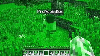 PLAYING MINECRAFT AS A CREEPER!