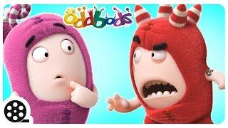 Oddbods İle Karikatür   Kesintisiz Delilik Çocuklar İçin Komik Videolar  