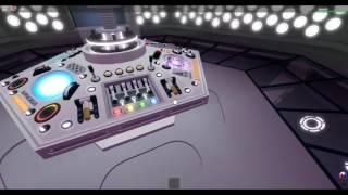 Roblox Purple TARDIS Type 63 interior - Doctor Who Related