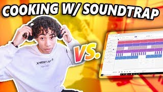 Making Hard Trap Beats For FREE Online W/ Soundtrap!!!