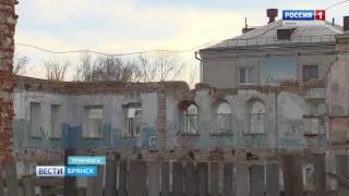 Реконструкция исторических зданий в Трубчевске