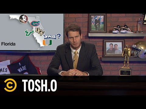 Tosh Hosts the Ultimate College Sports Talk Show - Tosh.0
