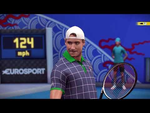 Roland Garros | Tennis World Tour | Federer Vs Isner |