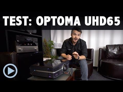 4K Beamer Optoma UHD 65 Vorstellung / Test