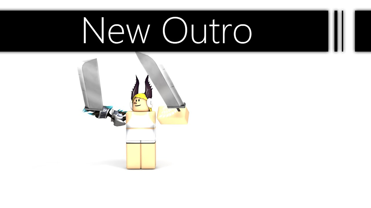 roblox outro template youtube. Black Bedroom Furniture Sets. Home Design Ideas