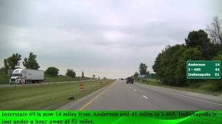 Driving from Muncie to Indianapolis, IN