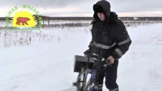Электровелосипед мотор колесо 36V 500w зима(Тестирование мотор колеса с обычными гелиевыми аккумуляторами, получилось дешево и как говориться смотрит..., 2014-03-27T11:17:18.000Z)