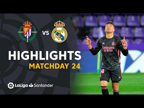 Valladolid Real Madrid Goals And Highlights