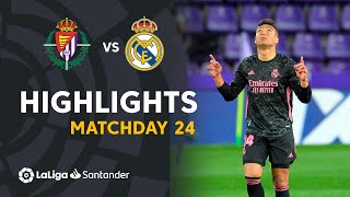 Highlights Real Valladolid vs Real Madrid (0-1)