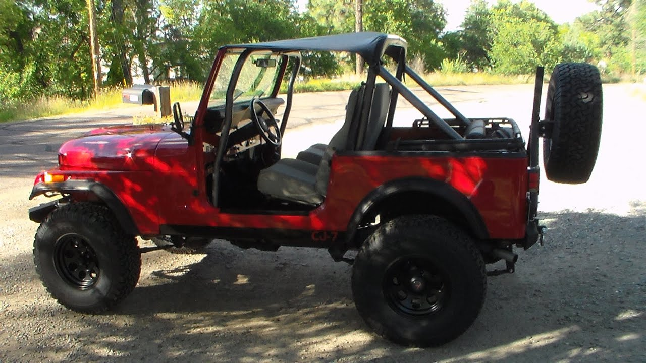 1985 JEEP CJ7 FOR SALE - YouTube