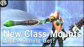 Preacher goes through every class mount quest and ranks them in ord...