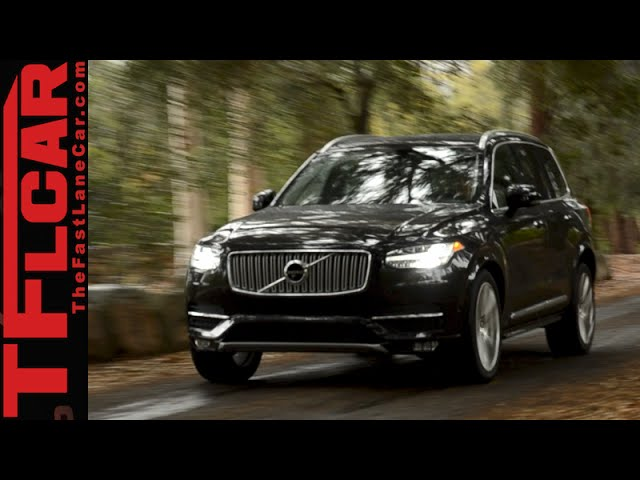 2016 Volvo Xc90 T6 Inscription Awd An Inspirational Change Review The Fast Lane Car