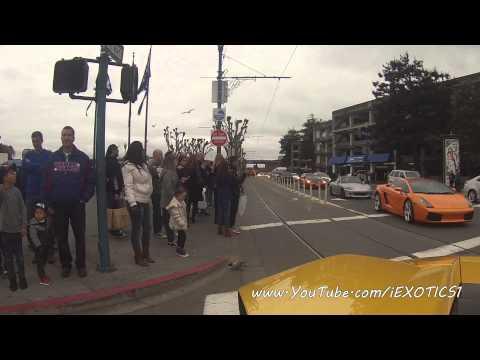 Lamborghini Murcielago Reaction Video - San Francisco, CA