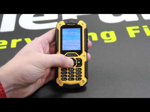 Sim Free Fonerange Rugged 128 Tough Mobile Phone Test