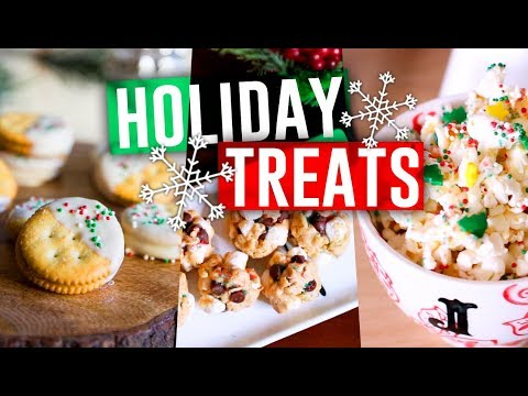 DIY Holiday Treats! Easy No Bake Desserts You HAVE To Try! 2017 // Jill Cimorelli