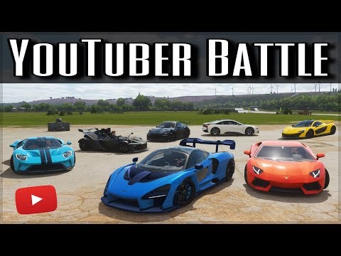 The Ultimate YouTuber Dragrace | Forza Horizon 4 | ft. MrBeast, Shmee150, TheStradman & more!! thumbnail