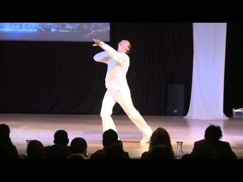 Peter Hodgson - USA - World Latin Dance Cup 2012 Soloist Men Semi Finals