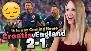 ENGLAND vs CROATIA - WORLD CUP 2018 LIVE REACTION!! IT'S NOT COMING HOME!?