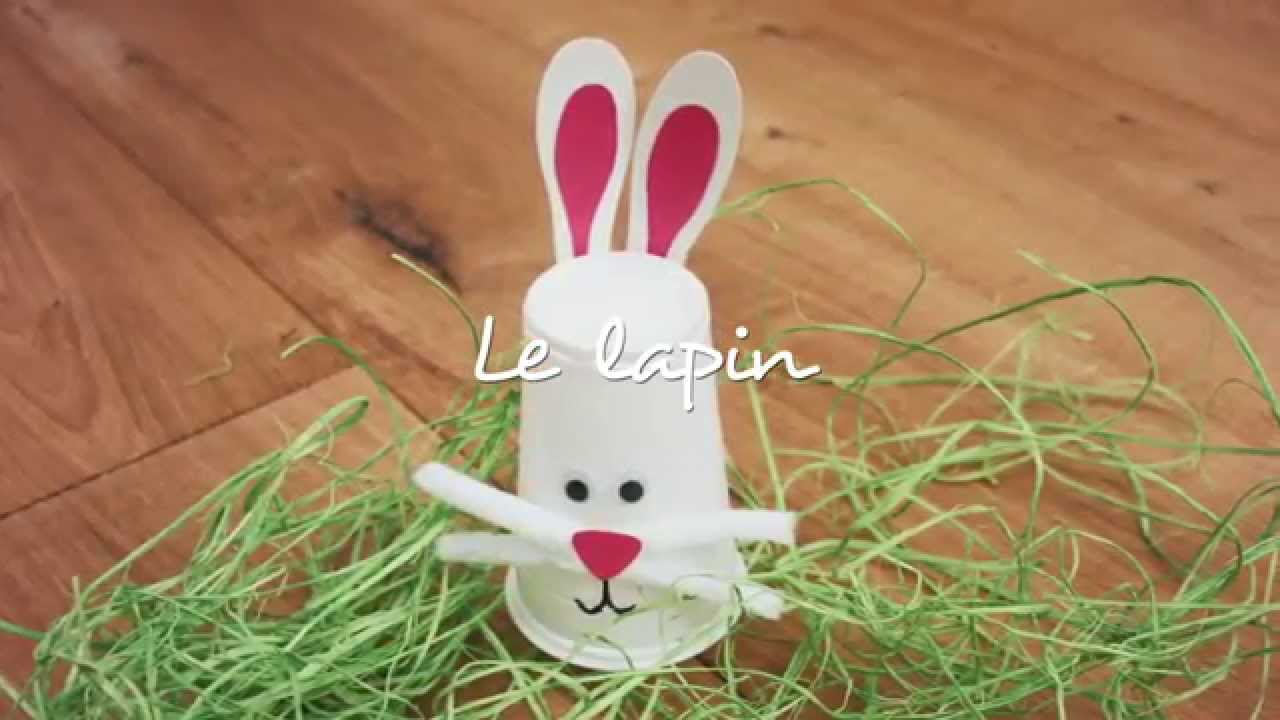 bricolage le lapin youtube. Black Bedroom Furniture Sets. Home Design Ideas