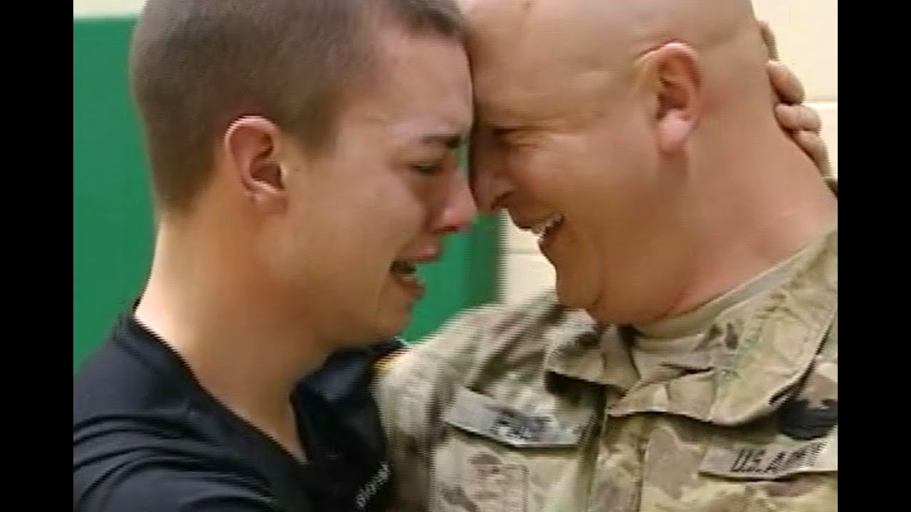 Soldiers surprise homecoming best of
