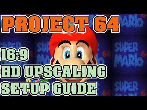 How To Configure Project 64 GlideN64 Video Plugin
