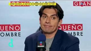 Jorge Salinas regresa a la pantalla tras atravesar por varios retos | De Primera Mano