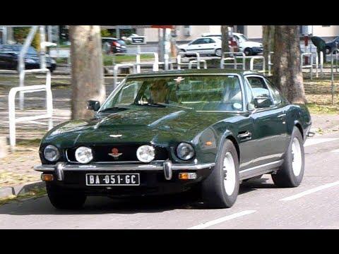 Aston Martin V8 Oscar India Serie 4 Saloon On The Road Youtube
